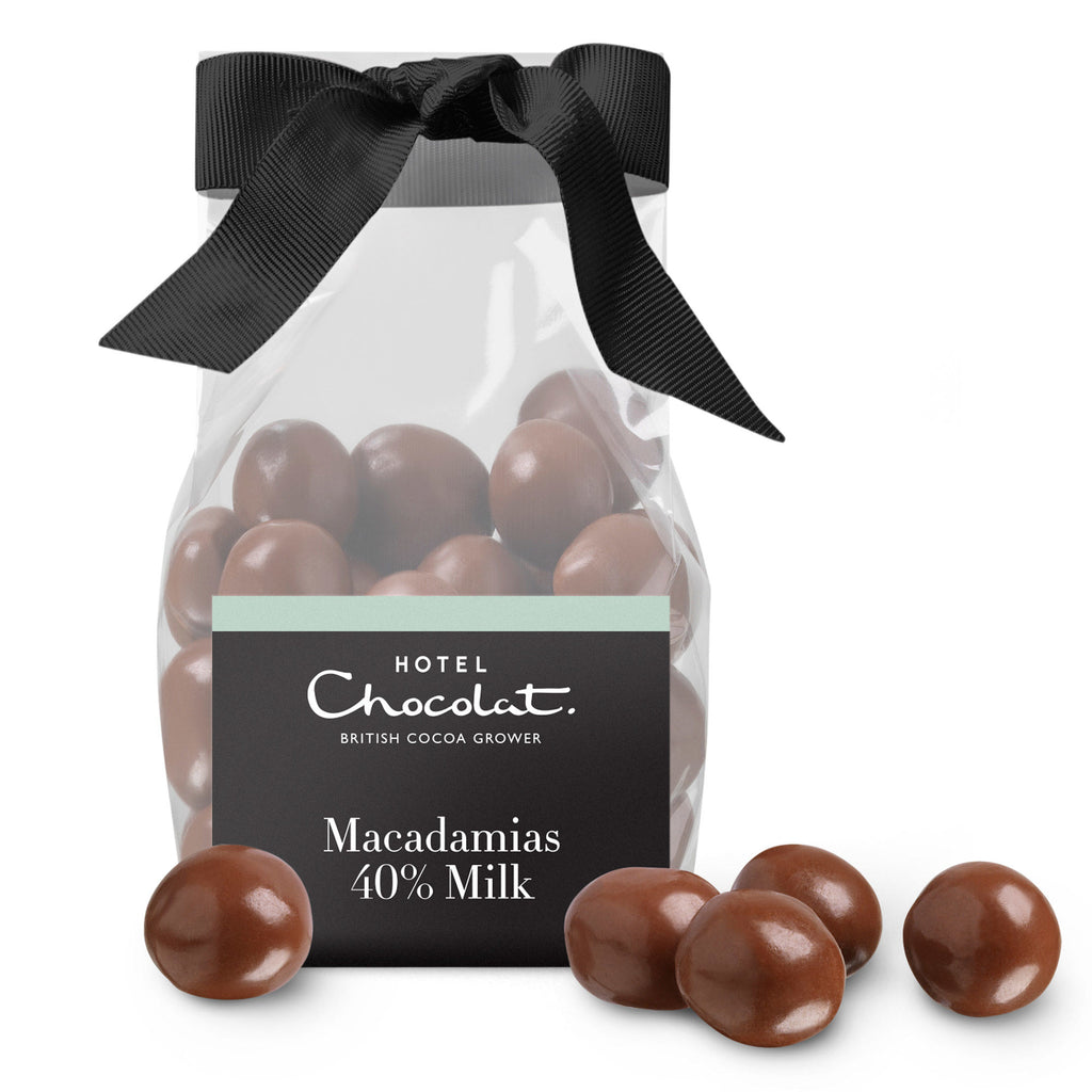 40% Milk Chocolate Macadamias