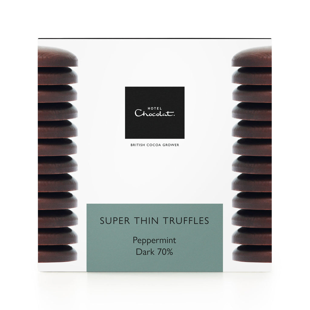 Super Thin Mint Truffles