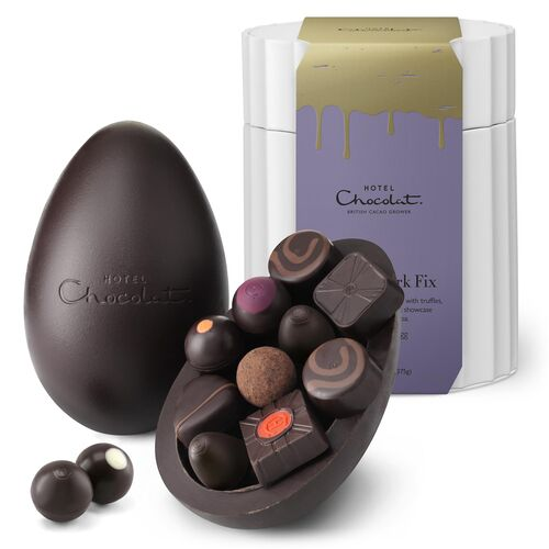 Extra-Thick Easter Egg - Seriously Dark Chocolate
