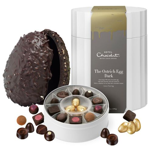 Ostrich Easter Egg - Dark Chocolate