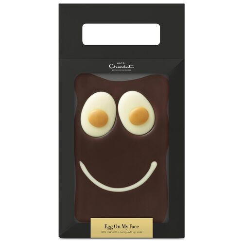 Egg On My Face 200g Chocolate Slab