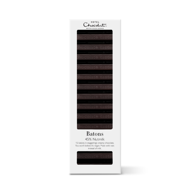 Batons - 45% Nutmilk Chocolate (Vegan)