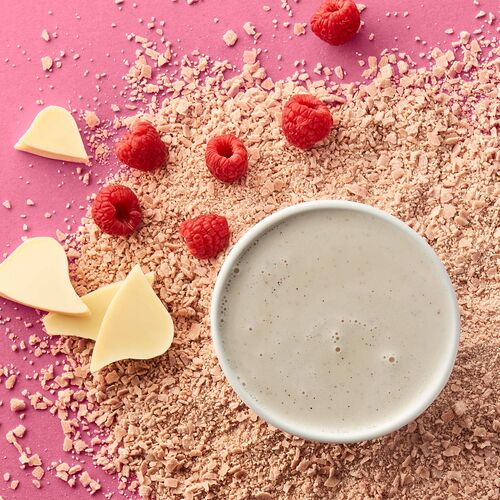 Raspberry-White Hot Chocolate – Single-Serves