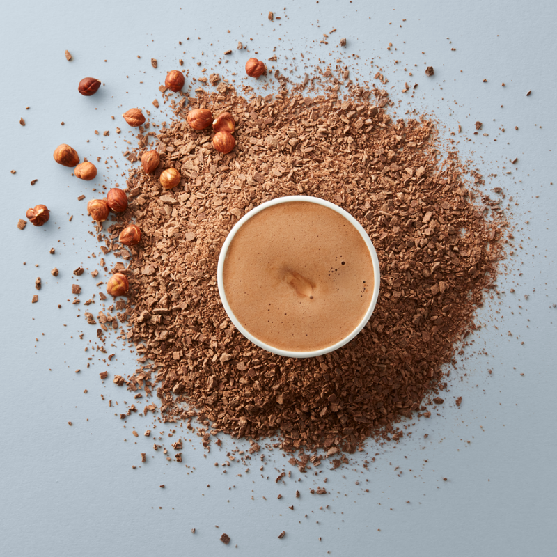 Hazelnut Praline Hot Chocolate – Single-Serves