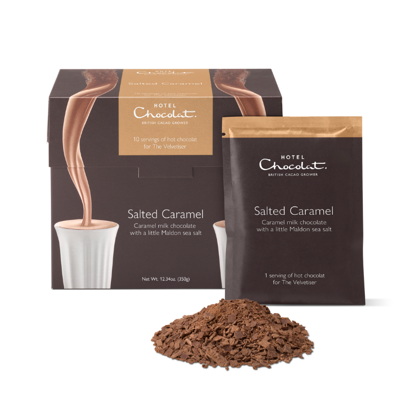 Salted Caramel Hot Chocolate - Single Serves