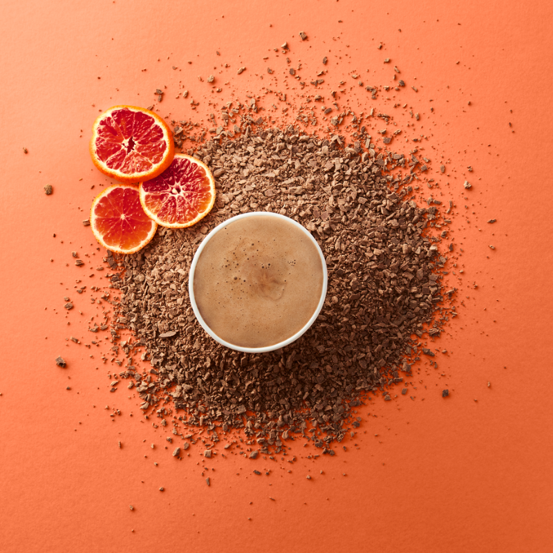 Orange Supermilk Hot Chocolate – Single-Serves