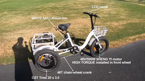 Electric Tricycles and Electric Bikes near you in Cerritos