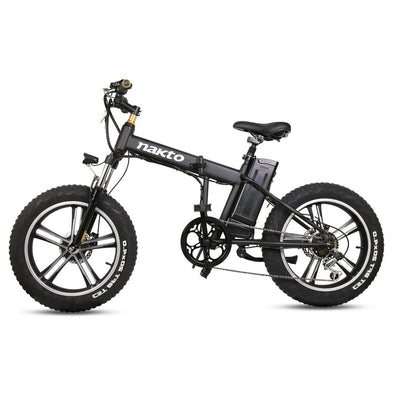 Nakto Folding Mini Cruiser - Fat Tire Folding e-Bike