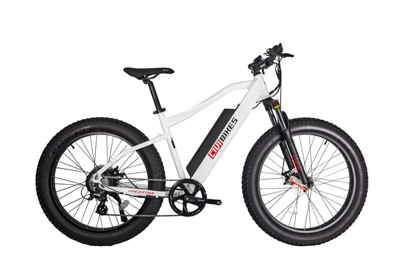 "Predator by Civi bikes 26"" Fat tires, electric mountain bike for off road, commute and comfort. Electric Bikes Near Long Beach"