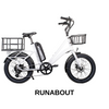 The Roundabout by Civi Bikes - Low Step Thru Cargo eBike