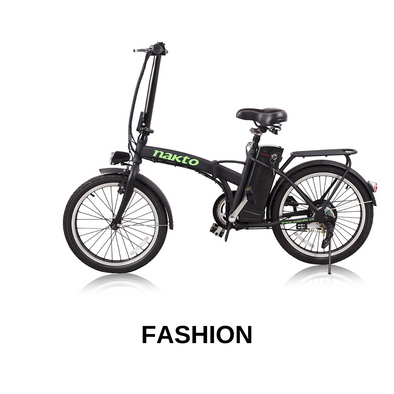 "20"" Fashion by Nakto eBikes - Lightweight Folding eBike"