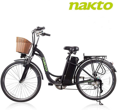 The Camel F by Nakto Bikes - Large Easy Step eBike