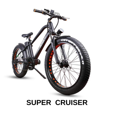 Super Cruise by Nakto Bikes - Comfort Beach Cruiser