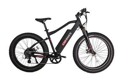 The Electric Predator by Civi Bikes - 500w Fat Tire Front Suspension Ebike