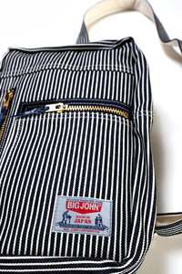 VBBD04 Railroad Stripe Body Bag /ヒッコリーストライプ