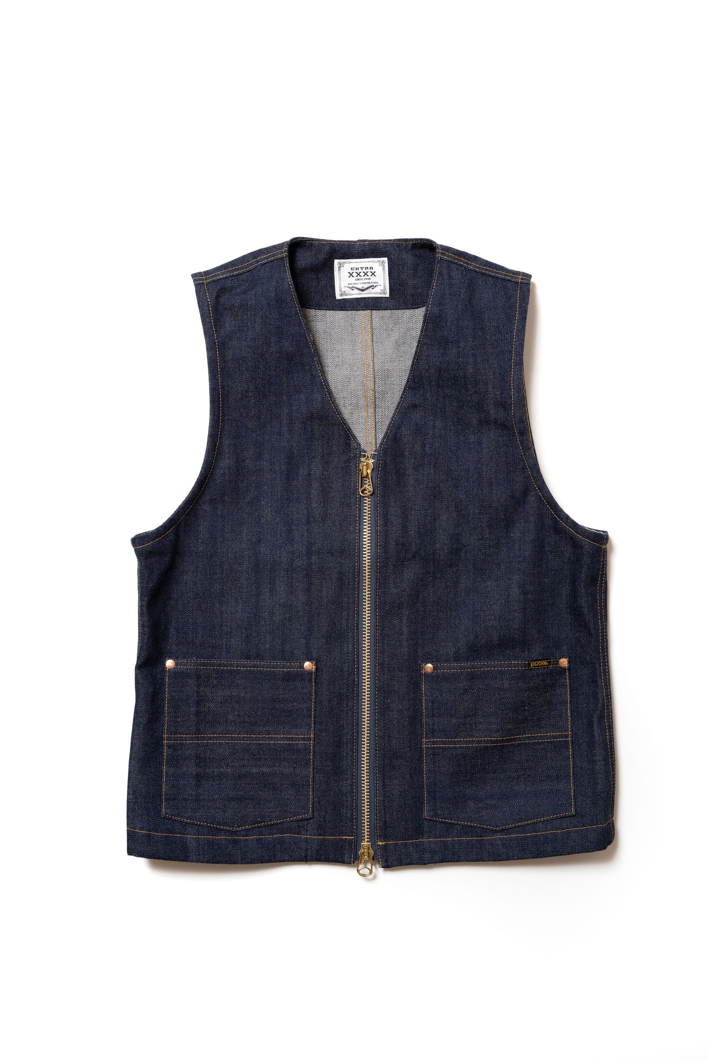 XX602Z (000)『XXXX-EXTRA』ZIP UP VEST