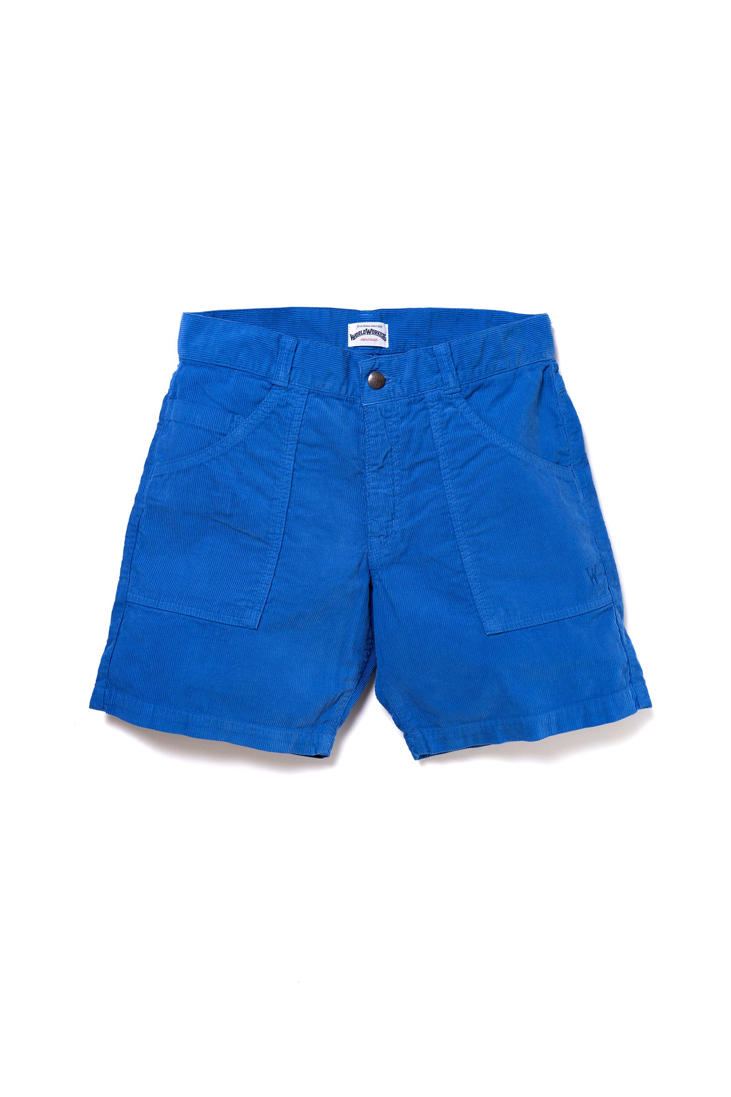 WR777M (08 Royal Blue) World Workers Beach Corduroy Shorts