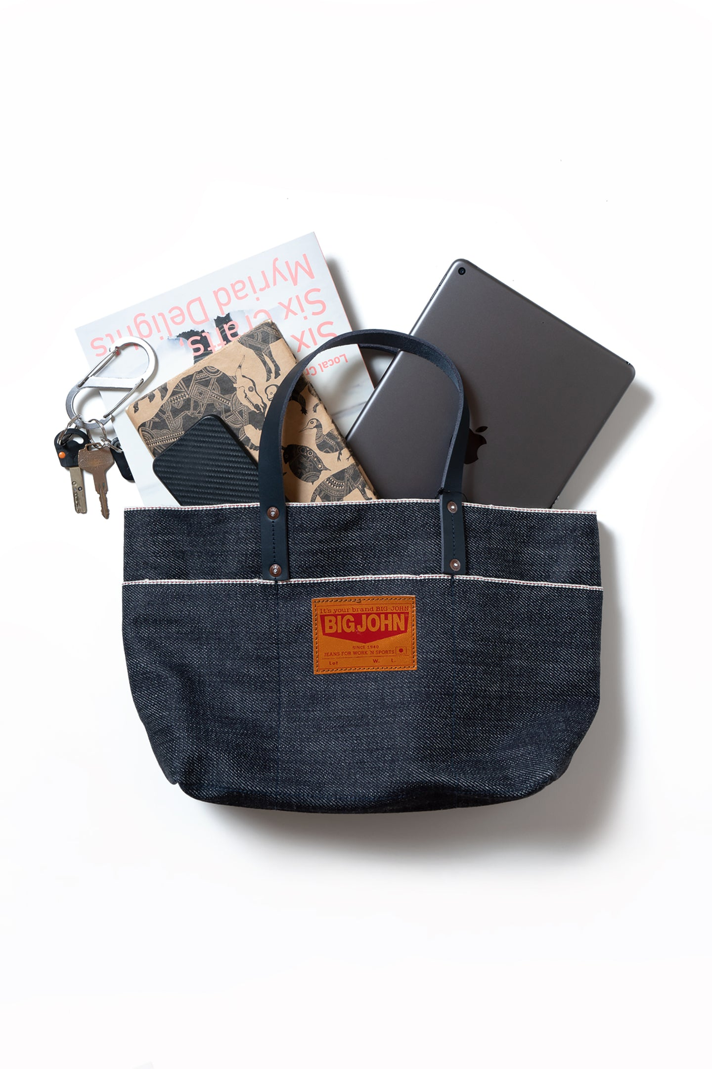 19oz. Selvage Denim Tote