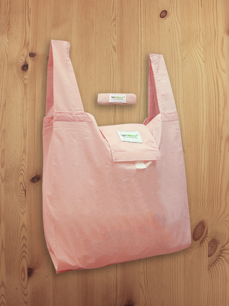 Pink Foldable Shopping Bag A01017
