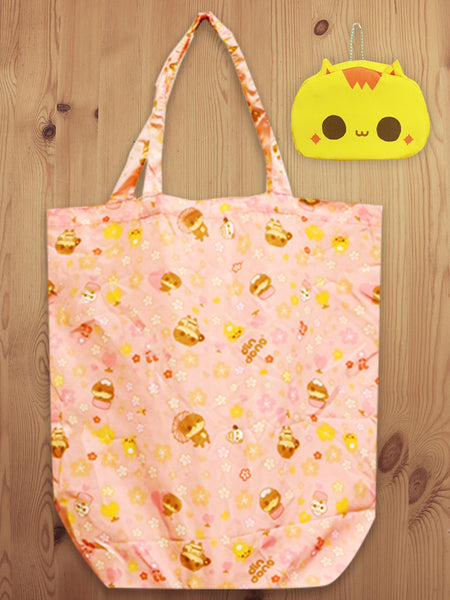 Foldable Shopping Bag Yellow A18019