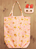 Foldable Shopping Bag Pink A18019