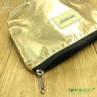 1pc - Shiny Gold Cosmetic Bag C01037 (M)