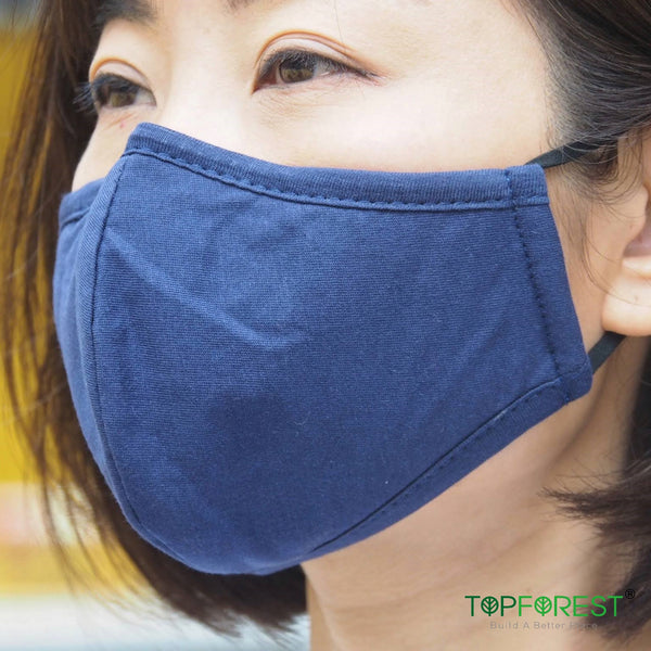 2pcs - Cotton Fabric Adjustable Ear Band Eco-Mask M11020