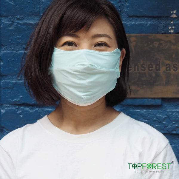 1pc - Summer UPF50 UV Protection 3D Slim-Cutting Breathable Thin Face Cloth Mask -  M16020