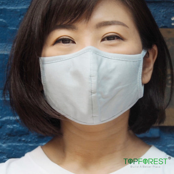 2pcs - 3D Durable Washable Cotton Cloth Mask M02020