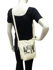 TOPFOREST - Small Canvas Bag B02037