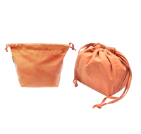 Orange Lunch Drawstring Bag A21020