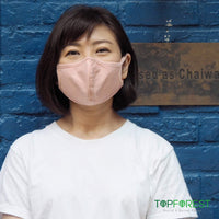 5pcs - 3D Blue Cotton Fabric Eco-Mask (M02020)