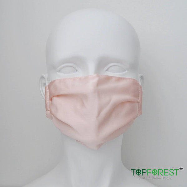 1pc - Summer Breathable Silk Face Cloth Mask - Simple Style M14020