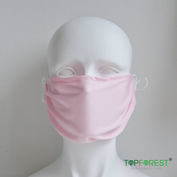 2pcs - XL Summer Extra-thin One-Layer Breathable Face Cloth Mask - M15020