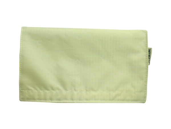 Beige Plain Water-resistant Portable Mask Wallet (1pcs) M05020
