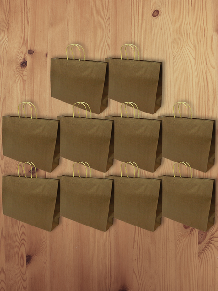 3D Eco-Paper Large Bag 10pcs SPB007