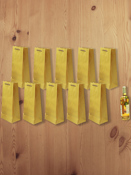 3D Eco-Paper Wine Bag 10pcs SPB001
