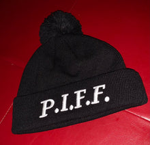 Load image into Gallery viewer, P.I.F.F. /Mr 31 reversible Winter Hat (Black)