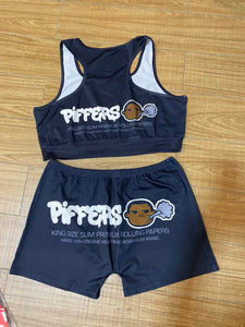 PIFFERS 2 piece set (BLACK)