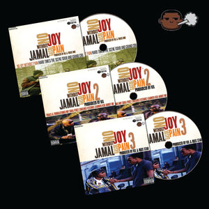 """No Joy Without Pain"" Complete Trilogy (Physical CD) **Pre Order**"