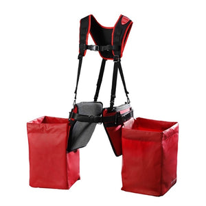 Pottiputki carriage set of 2 plantbags, 2 cushions, belt & twin harness