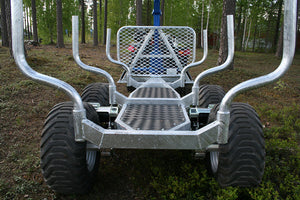 Avesta-Vagnen MS48 ATV forest trailer      ! The Ultimate Edition !