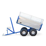 Bonnet Oxen BL ATV trailer (4 weels) with winch - tiltable