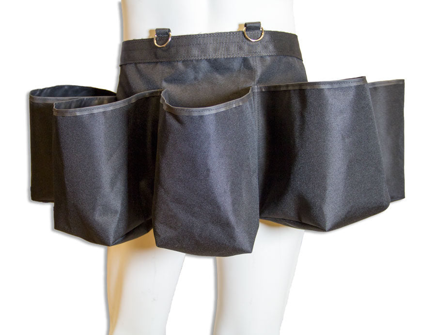 Planting belt with five pockets