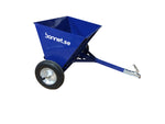 Bonnet sand & salt spreader for ATVs