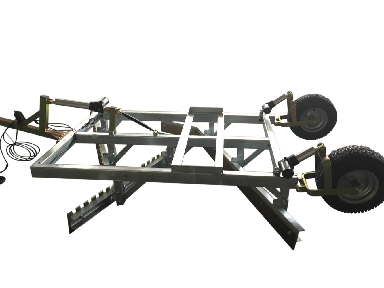 Bonnet grader 1.6m with flexible ball hitch and electrical hight adjustment