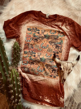 Load image into Gallery viewer, Southwestern graphic clip art tee