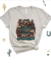 Load image into Gallery viewer, Long live cowboys tee
