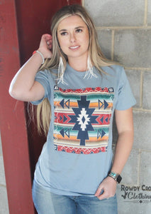Whiskey river Aztec tee