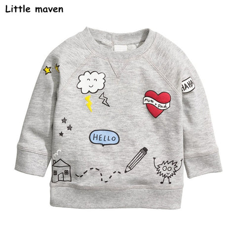Little Maven - A Cloudy Tee